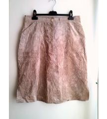 KOŽNA suknja vel. 42/XL - %RASPRODAJA%