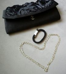 %Svečana crna torbica%