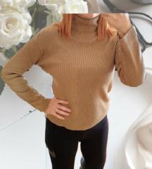 Smeđi/camel pulover dolcevita 🎀