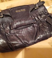 Miu Miu kožnata torba