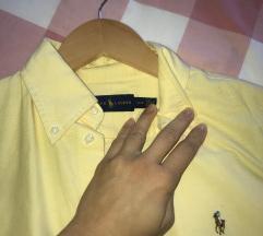 Polo Ralph Lauren košulja žuta kratki rukav- S/P