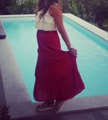 Crvena Zara suknja