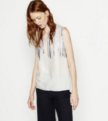 Novi Zara top s ljuskicama