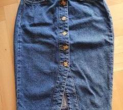 Denim Co nova traper suknja, vel 34