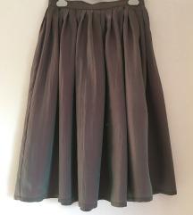 Retro midi suknja