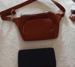 Pederuša torba i novčanik novo