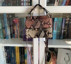 Zara torbica zmijski uzorak