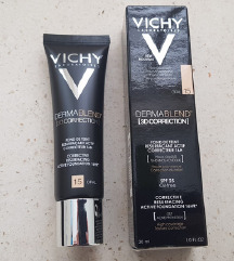 Vichy Dermablend 3D korektivni puder nijansa 15