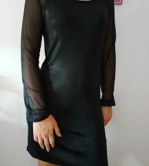 Kratka crna haljinica