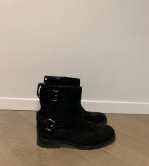 Massimo Dutti crne čizme
