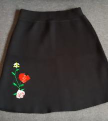 Nova crna suknja zimska