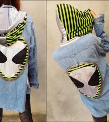 80€ Vintage Levis redizajn Alien Hoodie koshulja