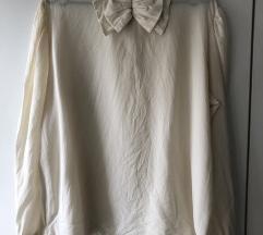 Unikatna vintage svilena bluza