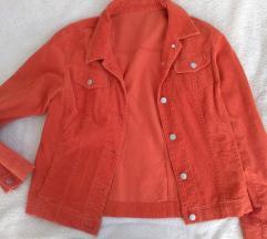 Crveno-narančasta jakna