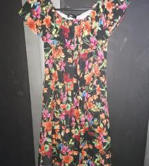 Cvjetna haljina M-S