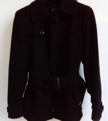 Crni kaput jakna ESPRIT NOVO 40