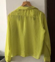 Kričavo zelena/žuta košulja