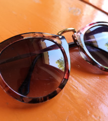Cvjetne sunčane naočale-crne