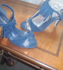 Sandale sa resicama - kožne