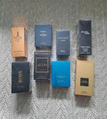 Odlične kopije muških parfema, novo