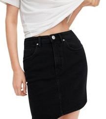 Zara traper crna suknja