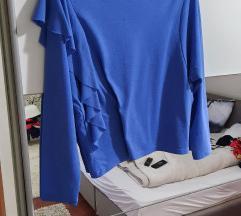 Zara baby blue bluza%