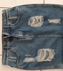 Suknja jeans