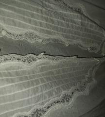 Bijela bluza s čipkom