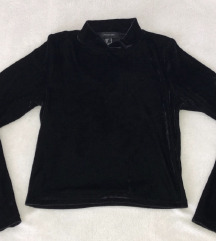 Velvet crni top