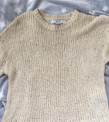 Džemper rupičasti ženski