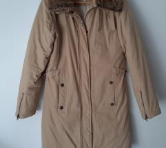svjetlo bež jakna - kaput
