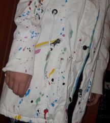 Bijela jakna oslikana 99 kn %%%%%