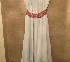 Zara haljinica bez ramena🎀