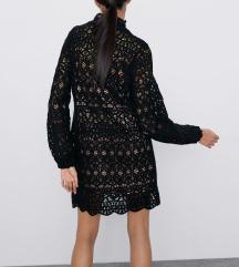 Zara nova Macrame haljina