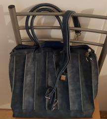 Renato Balestra plavo - siva torba