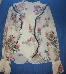 Cvijetna košulja zara
