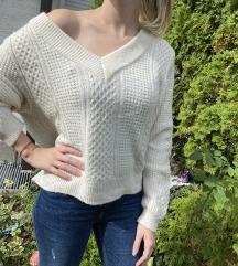 H&M džemper V-izrez