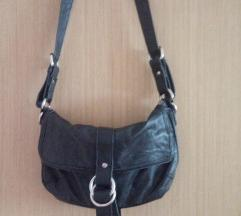 Crna torba od umjetne kože - SNIŽENO %