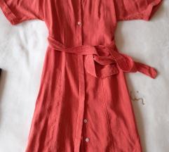 Mango prugasta košulja haljina sa etiketom XS