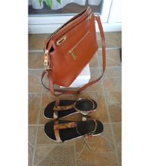 %%Lot sandale i torba