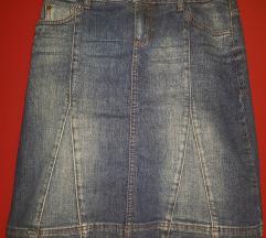 S Oliver jeans suknja