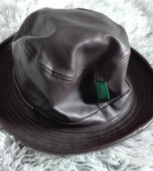Vintage kožni šešir