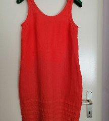 GANT narančasta lanena haljina
