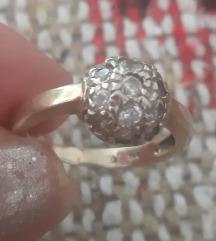 Prsten zlato 585