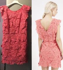 Topshop nova haljina s 3D čipkom