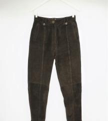 Vintage kožne hlače