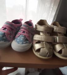 Lot obuće za djevojčice vel. 20
