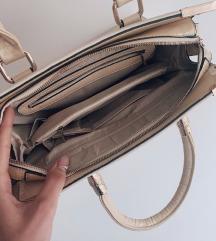 Velika praktična krem torba - novo