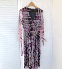 RESERVED ljubičasta prekrasna svečana haljina
