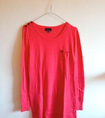Crvena pletena tunika